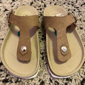 Girls Giulia Palai Slide Sandals Size 12